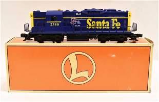 Lionel 6-52197 Artrain Santa Fe GP-9 Diesel Engine