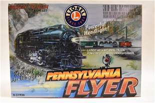 Lionel Pennsylvania Flyer Train Set 6-31936