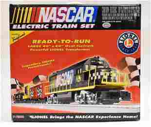 Lionel Nascar Ready-To-Run Train Set