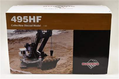 1/50 Bucyrus 495HF Electric Mining Shovel