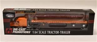 1/64 DCP Schneider National Freightliner w Trailer