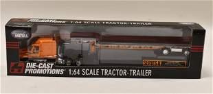 1/64 DCP Schneider National Freightliner Stepdeck