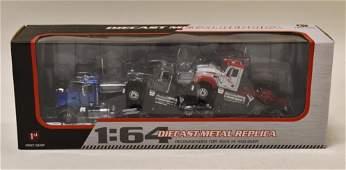 1/64 1st Gear Mack Granite 3 Piece Truck Set
