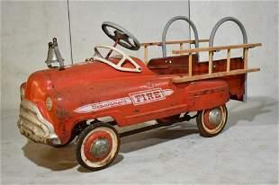 Murray Sadface Fire Dept. Pedal Car