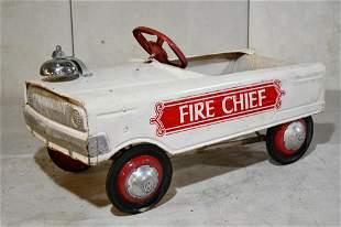 Murray Fire Chief Pedal Car