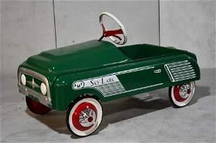 Restored AMF Skylark Pedal Car