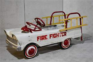Repainted Murray Fire FIghter Pedal Car