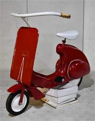Restored Garton Super Sonda Pedal Scooter