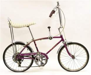 1966 Schwinn Sting-Ray Fastback 5-Speed Bicycle