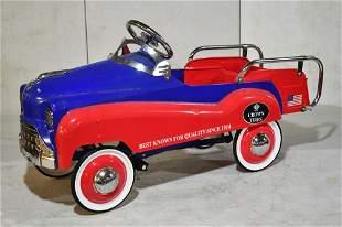 Contemporary Crown Tires Pedal Car