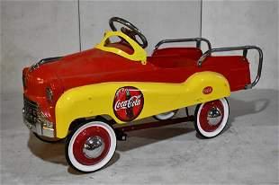 Contemporary Coca Cola Pedal Car