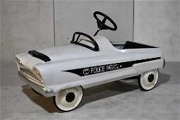 Custom Garton Police Patrol Pedal Car