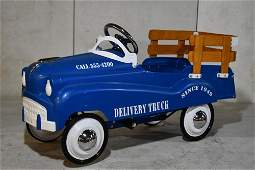 Contemporary Delivery Truck Pedal Car
