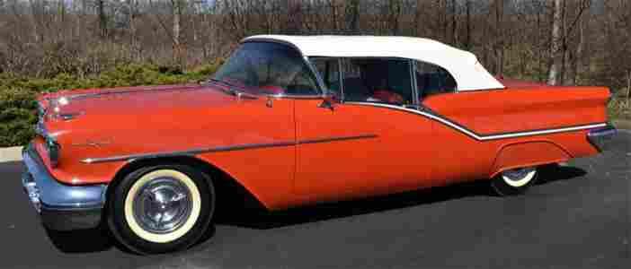 1957 Oldsmobile 98 Convertible