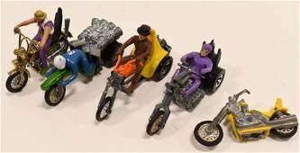 Hot Wheels Redline Era Rrrumblers Motorcycle Toys