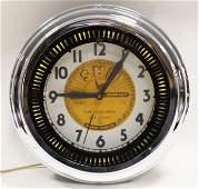 Vintage Sun Records 40th Anniv Neon Spinner Clock
