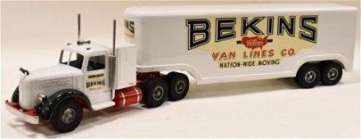 Fred Thompson Smith Miller Bekins Van Lines Truck