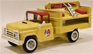 Restored Buddy L Coca-Cola Delivery Truck