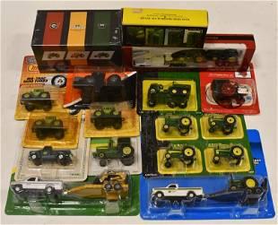 1/64 John Deere, Agcostar Matchbox Tractors & More