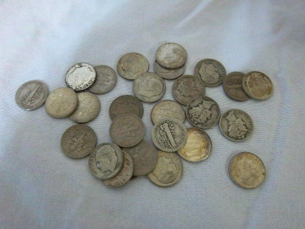 14: $2.70 FV Mercury and Silver Roosevelt Dimes