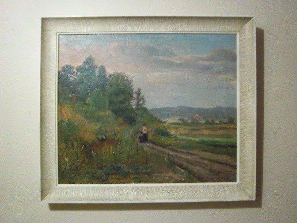"102: Joseph Kleitsch (1882-1931) O/C Painting, 20""x24"""