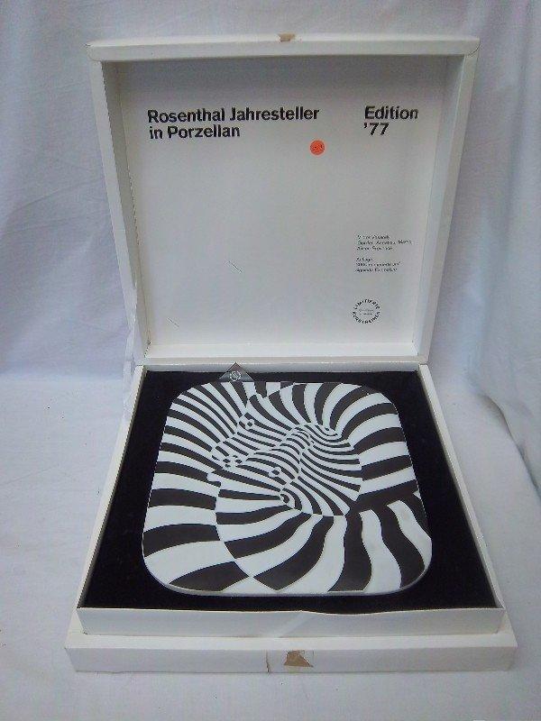 257: Rosenthal Studio Line Edition 1977 Plate Designed