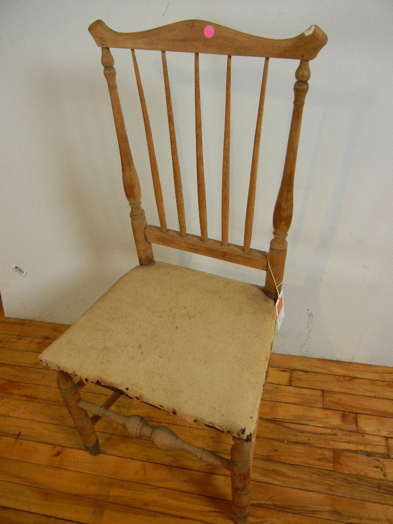 Early American Spindle Back Chair