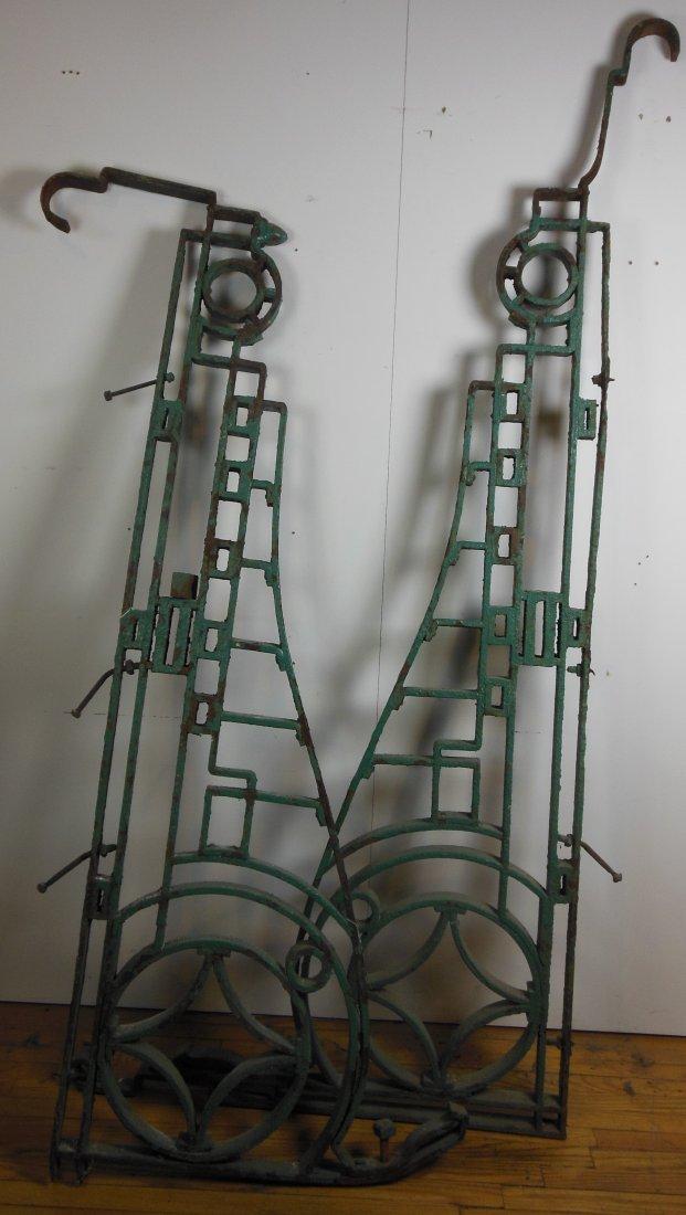 "Massive Strap Iron Brackets (2.25"" Thick)"