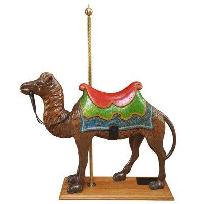 American Carousel Camel on Oak Stand , in Original Park