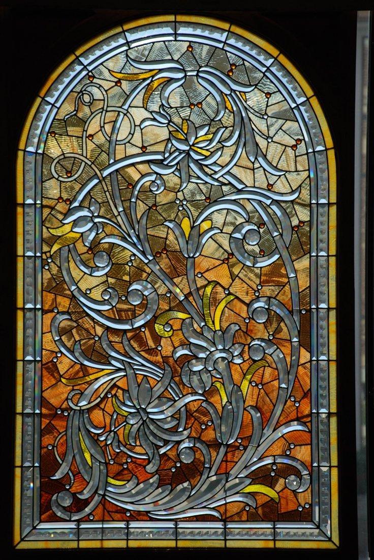 Bogenrief Beveled Glass Bouquet Window