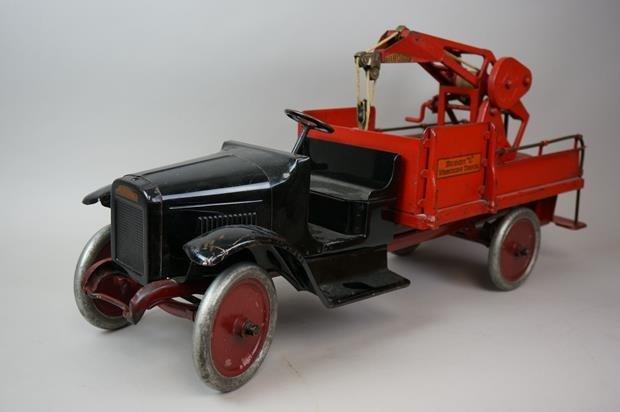 Antique Buddy L Wrecking Truck - 3