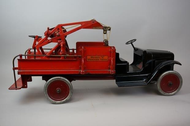 Antique Buddy L Wrecking Truck - 4