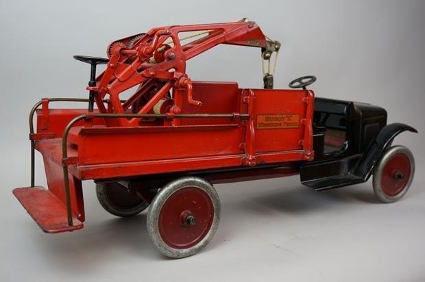 Antique Buddy L Wrecking Truck - 5