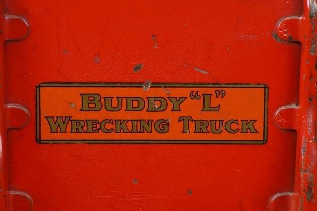 Antique Buddy L Wrecking Truck - 6