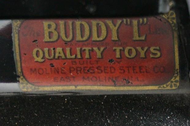 Antique Buddy L Wrecking Truck - 8