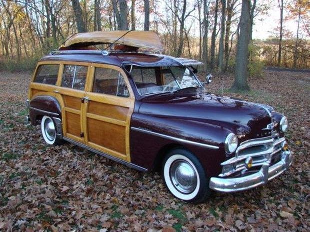 1950 Plymouth Special Deluxe Woodie Wagon with Matching