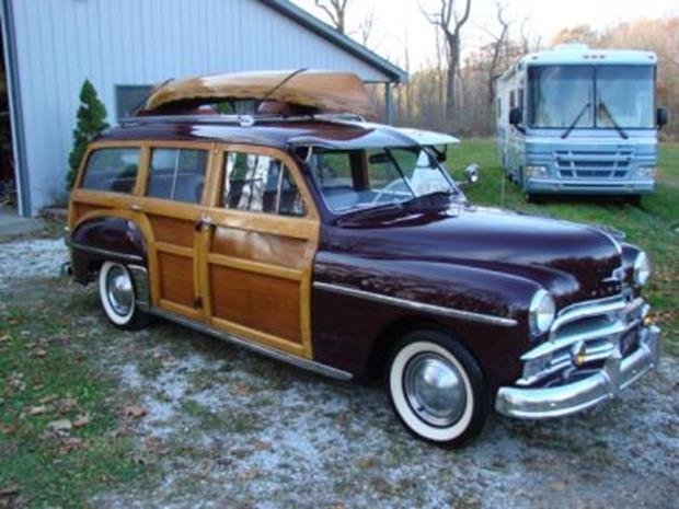 1950 Plymouth Special Deluxe Woodie Wagon with Matching - 2