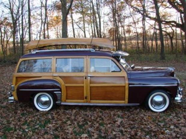 1950 Plymouth Special Deluxe Woodie Wagon with Matching - 4
