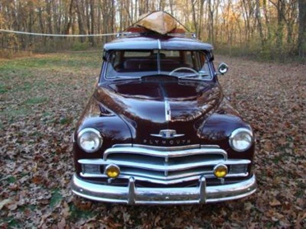 1950 Plymouth Special Deluxe Woodie Wagon with Matching - 5