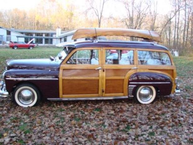 1950 Plymouth Special Deluxe Woodie Wagon with Matching - 6