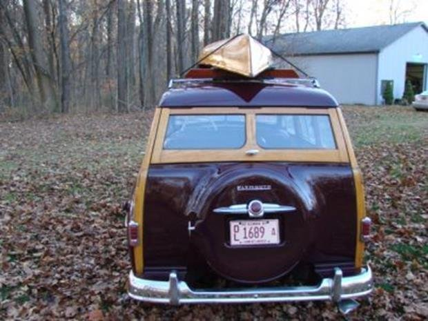 1950 Plymouth Special Deluxe Woodie Wagon with Matching - 7