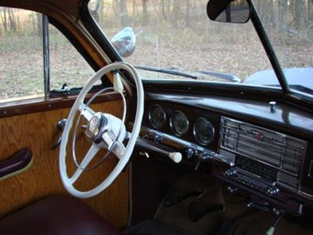 1950 Plymouth Special Deluxe Woodie Wagon with Matching - 9