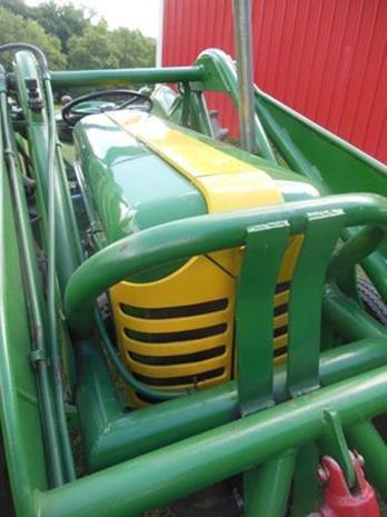 Oliver Super 55 Farm Tractor, Loader, Restored, 3pt - 3