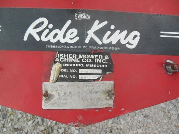 Ride King Lawn Mower, Runs!, Original Zero Turn Mower - 3