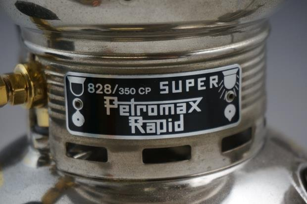 Petromax Rapid Super 828/350 CP Nickel Plate on Brass - 3