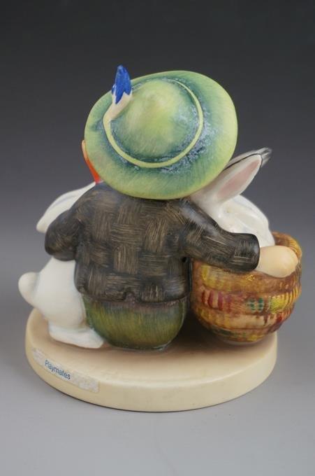 """Hummel Playmates Figurine #58/1 TMK 5  4-1/2"""" Tall - 2"""