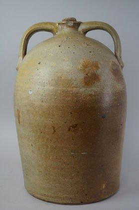 R.M. Dickson 5 Gallon Two Handled Pottery Jug Vernon