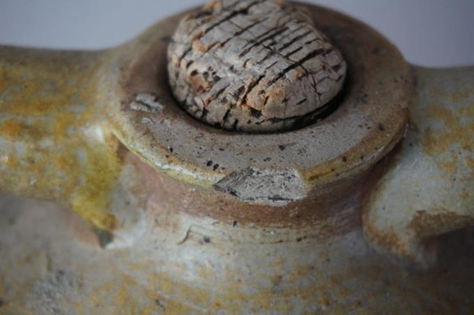 R.M. Dickson 5 Gallon Two Handled Pottery Jug Vernon - 5