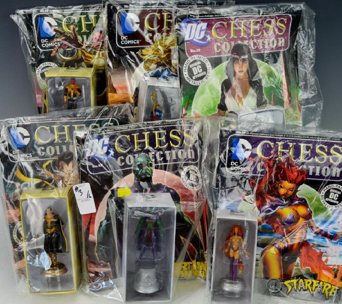 DC Comics Chess Collection Grouping