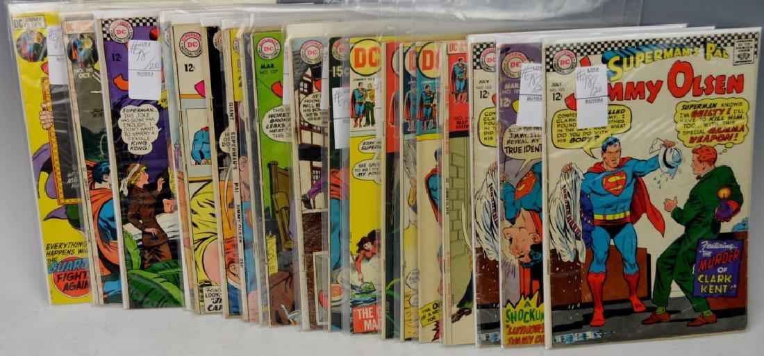 Silver Age Jimmy Olsen Comic Books